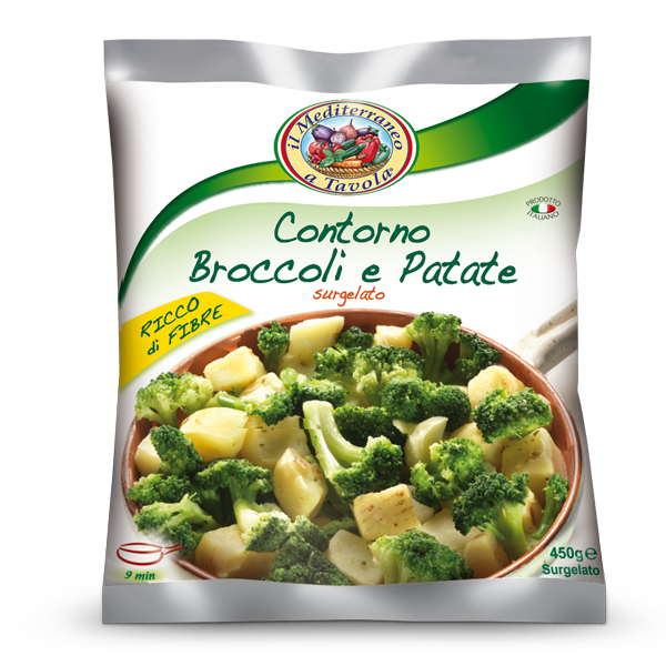 Contorno Broccoli e Patate