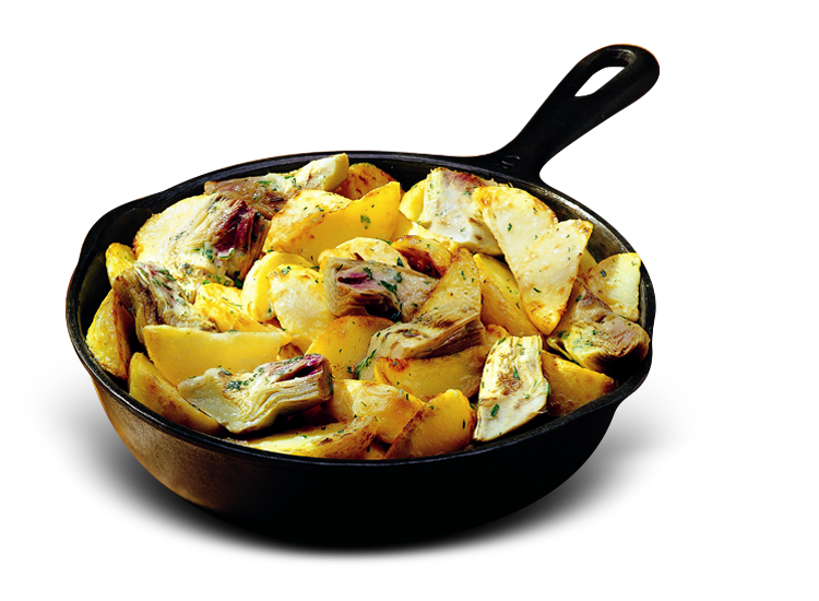 Potatoes and Artichokes - Frozen Food Gias_1