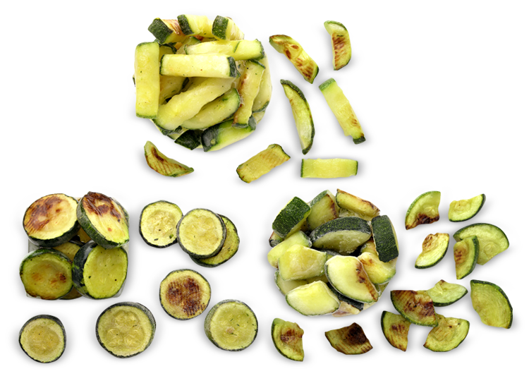 Grilled Zucchini - Frozen Food Gias_1