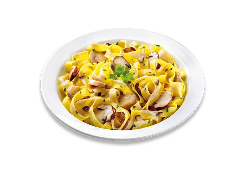 Tagliatelle Pasta with Mushrooms - Frozen Food Gias_1