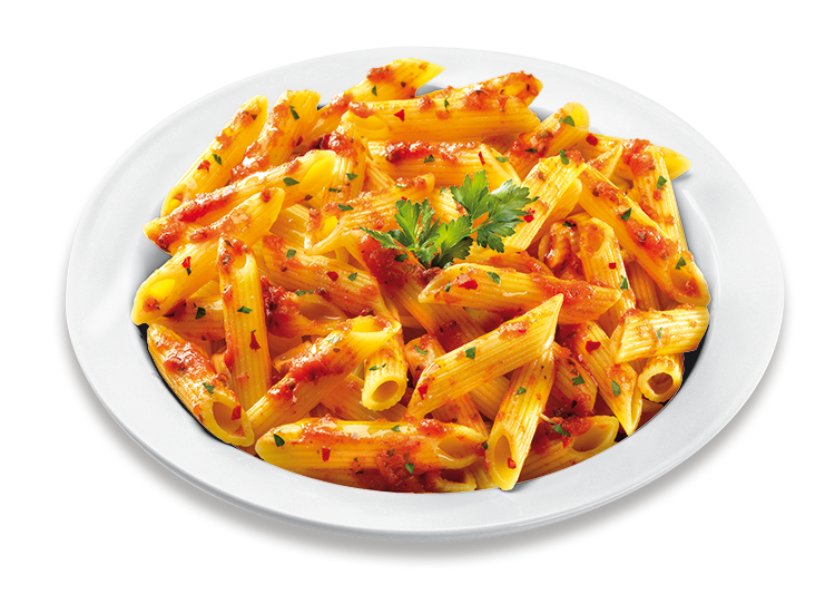Penne Pasta with Arrabbiata Sauce - Frozen Food Gias_1