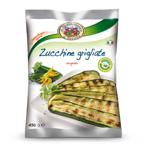 Grilled Zucchini - Frozen Food Gias_2