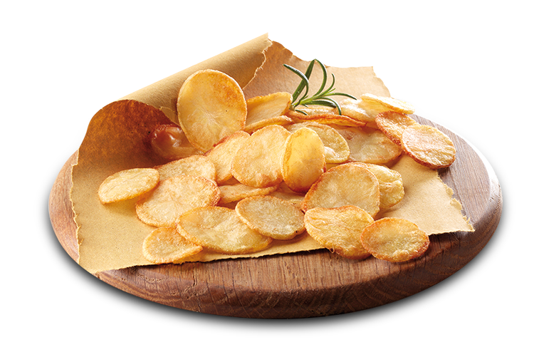 Chips di Patate grigliate